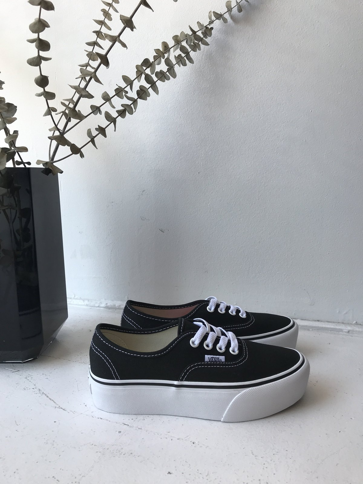 Vans Authentic Platform - Noir