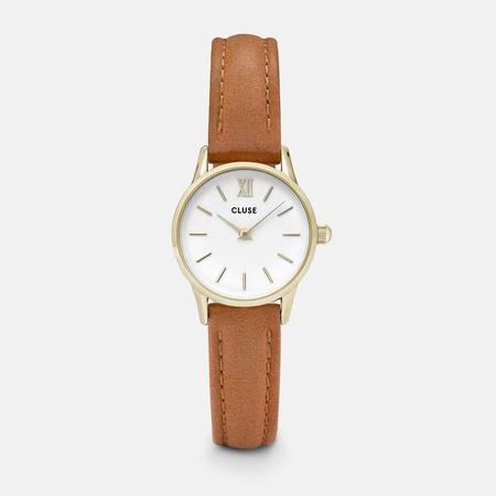 CLUSE LA VEDETTE CL50022 WATCH - GOLD/WHITE/CARAMEL