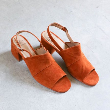 No.6 Layla Covered Heel - Turmeric