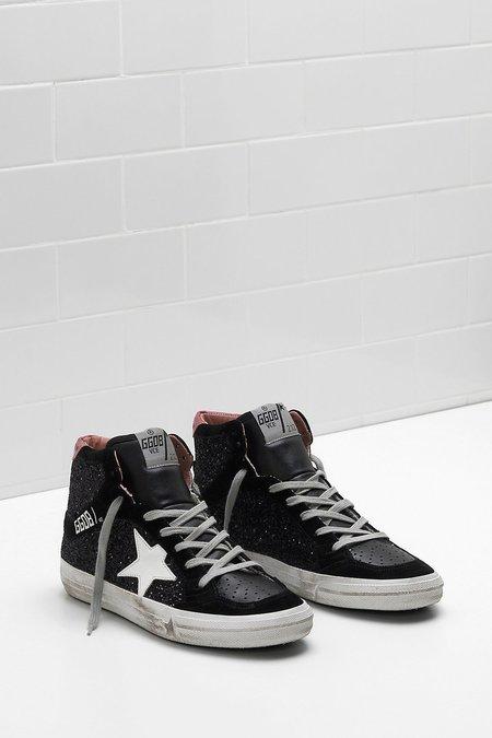 Golden Goose 2.12 Sneakers - Black Glitter
