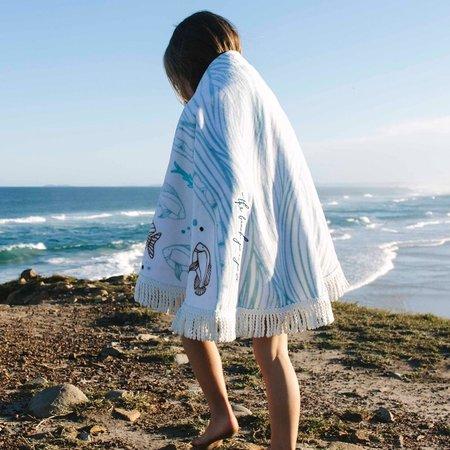 The Beach People Petite Roundie Towel - OCEANIC