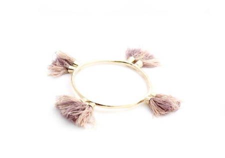 Takara Jewelry Cali Tassel Bangle