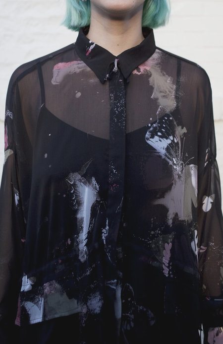Religion Atom Button Up Shirt
