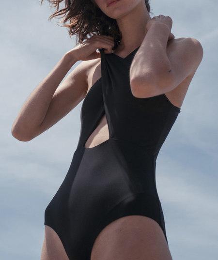Shaina Mote Sassen Maillot one piece swimsuit - Black