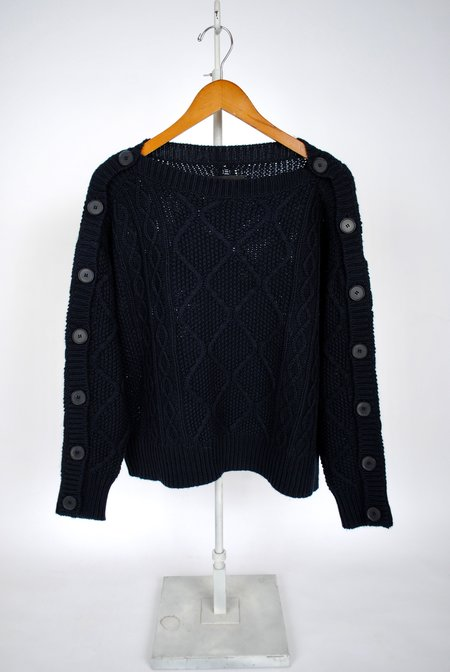 Nili Lotan Dakota Sweater - NAVY
