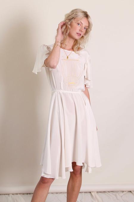 Samantha Pleet Lyre Dress