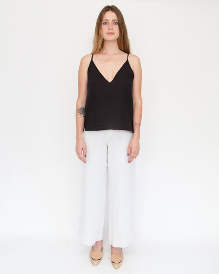 Esby Harriette Slip tank - black