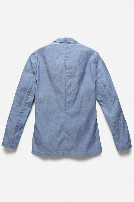 Fortune Goods RUM JACKET - BLUE SELVEDGE CHAMBRAY