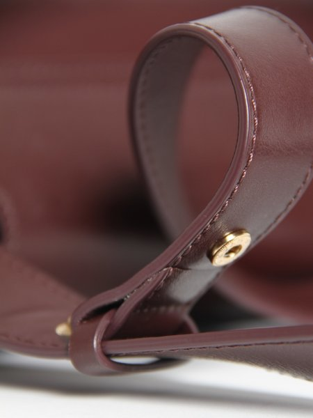 IMAGO-A Demi Lune Bag - Burgundy
