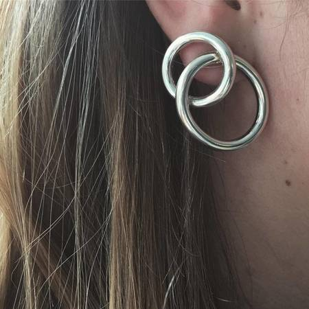 Gala Is Love Tatou Earrings - Silver