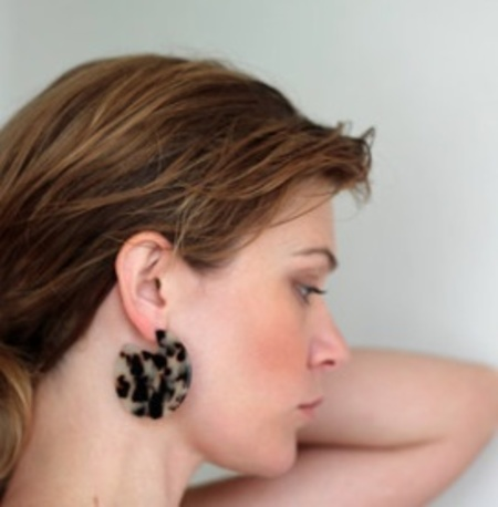 Machete Clare Earrings - Ash Blonde