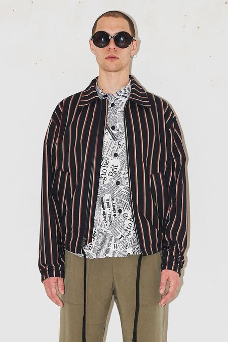 s.k. manor hill Hackney Jacket - prints