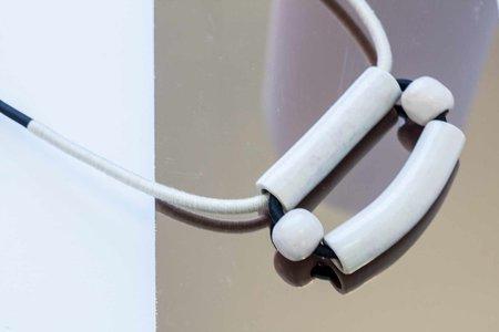 YYY Box Necklace - Lilac