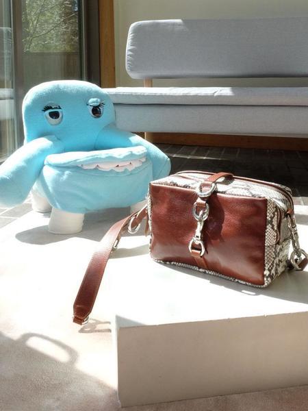Linder Scrap Messenger Bag