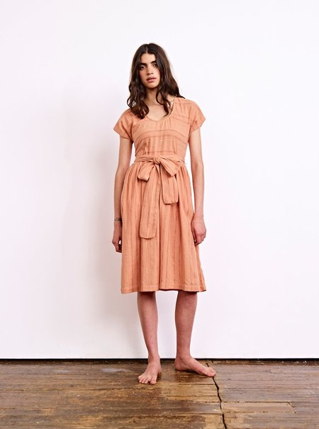 Ace & Jig Luna Dress in Clay