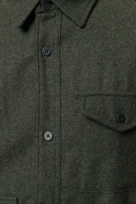 Han Kjobenhavn Army Shirt  - Tweed Army