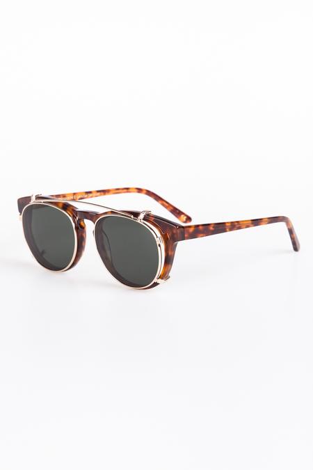Han Kjobenhavn Timeless Clip-On Sunglasses - Amber