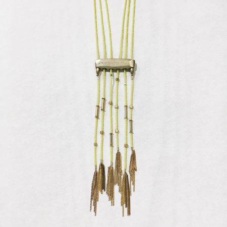 Sofie Albertsen Nomad Necklace - Yellow