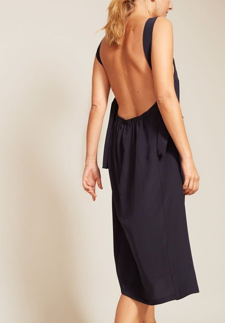 No.6 Criss Cross Back Dress - BLACK