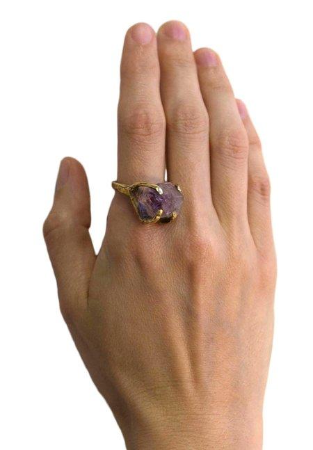 Unearthen Dirae Ring - Amethyst