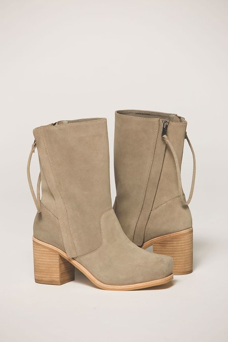 """""""Intentionally __________."""" Poncho Slouch Boot - Grey"""