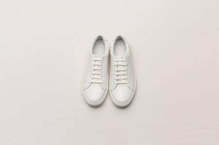 THEY New York Two-Tone Low - OffWhite/White