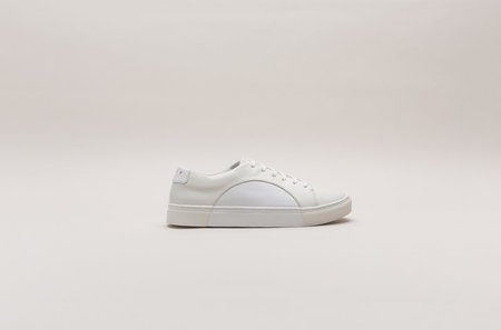 THEY New York Circle Low - OffWhite/White