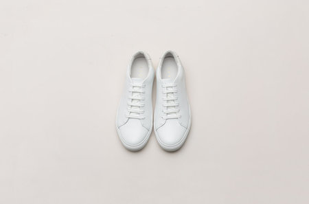 THEY New York  Two-Tone Low -  White/Grey