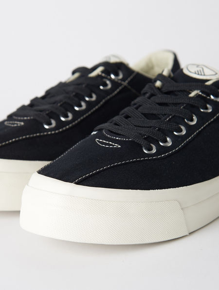 Stepney Workers Club Dellow Low Sneaker - Black