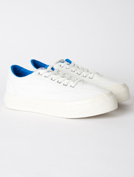 Stepney Workers Club Dellow Low Sneaker - White