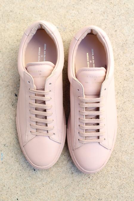Zespà leather sneaker - pink