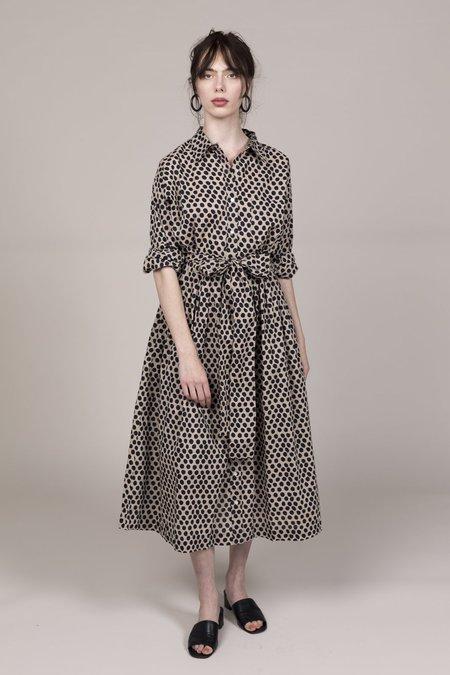 Rhode Laura Dress - Leopard