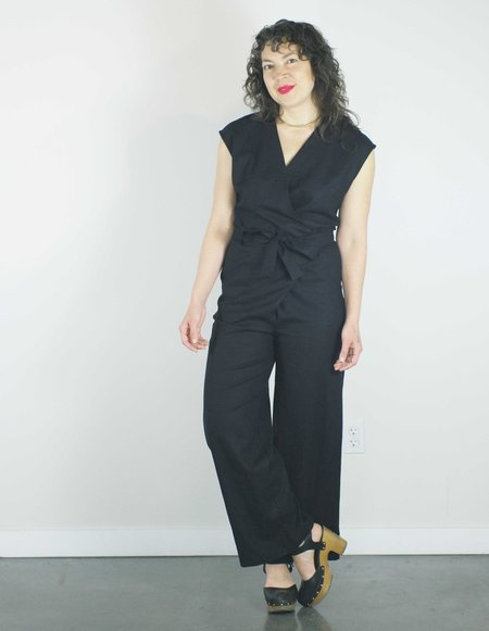 Dagg & Stacey Cicely Jumpsuit - Black