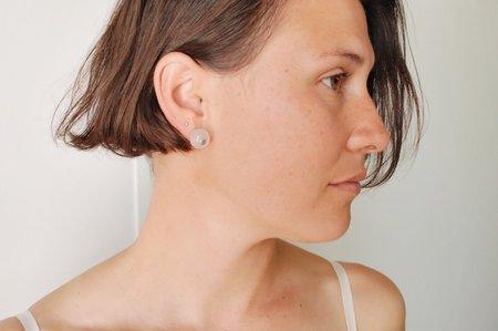 5th26 Rose Quartz Calder Earrings