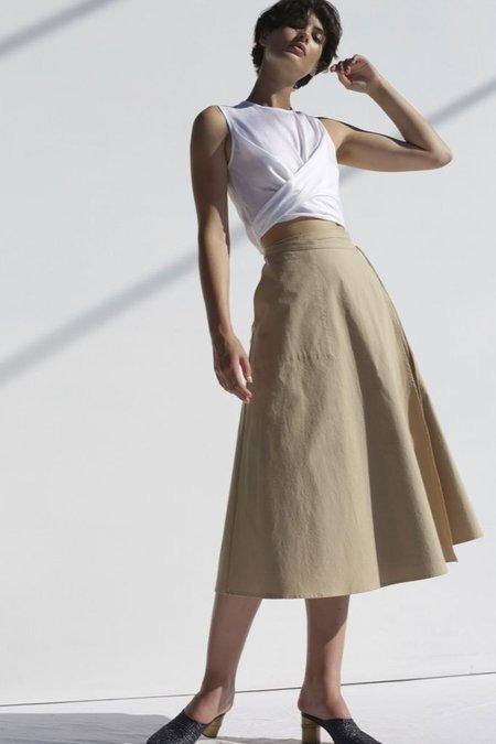 Shaina Mote Petalo Skirt - Camel