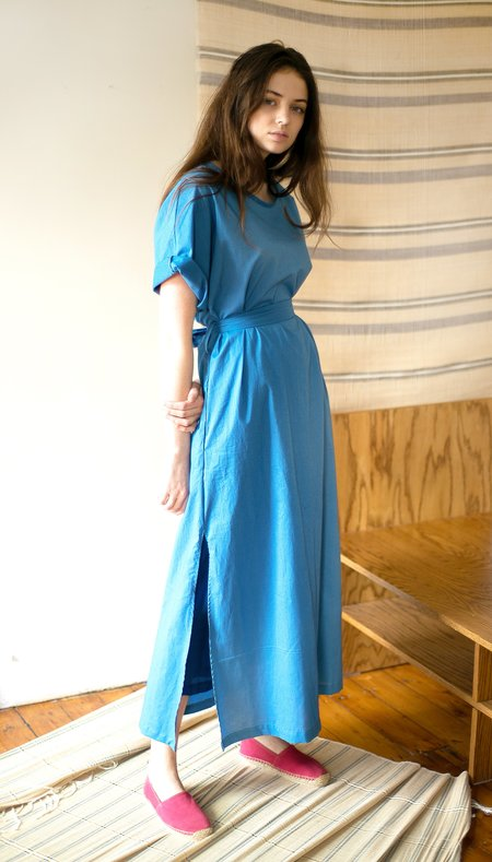 Colorant Storey Dress - Indigo