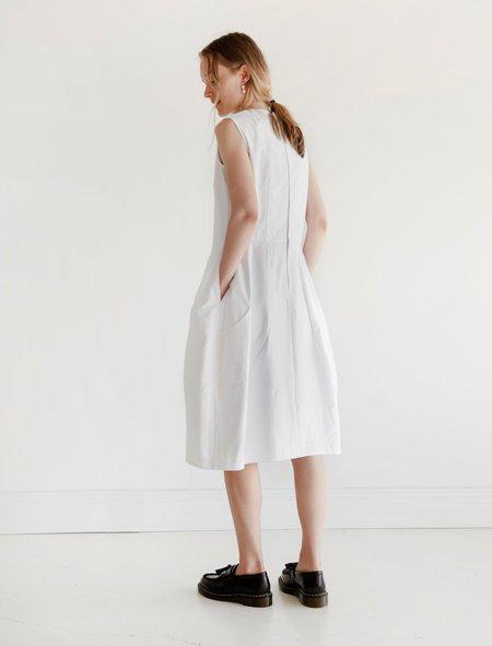 Comme des Garcons Contour Seam Dress - White