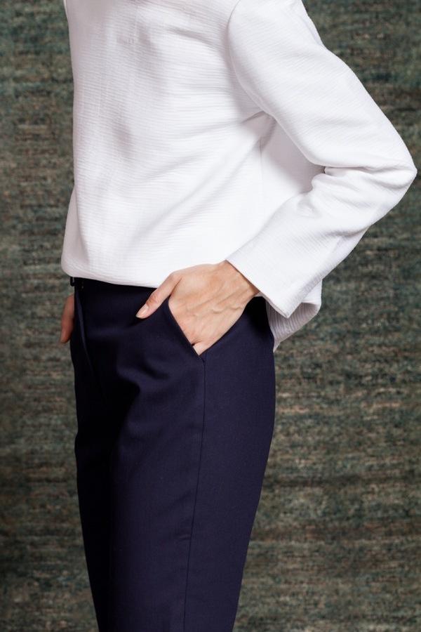 Apiece Apart Camilla Trouser | Navy