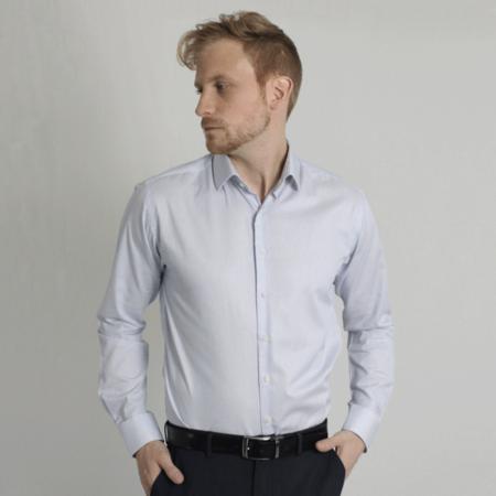 Carpasus Organic Cotton Shirt - Blue Stripes