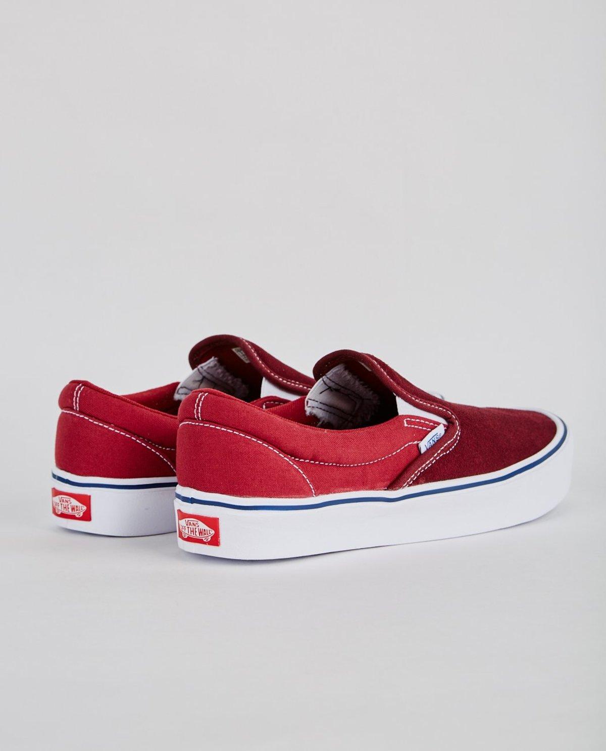 1dd510f570 VANS SLIP-ON LITE THROWBACK SLIP ON - PORT ROYALE/TIBETAN RED