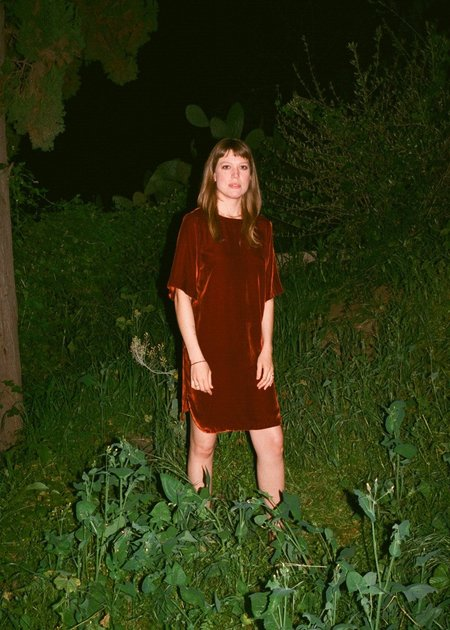 Gravel & Gold Valaurius Dress - Carnelian