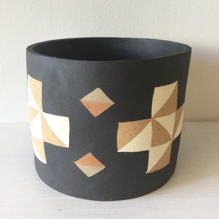 Heidi Anderson Large Ceramic Pot with Stand