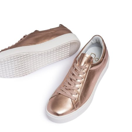 Dept. Of Finery Dixie Sneaker - Rose Gold