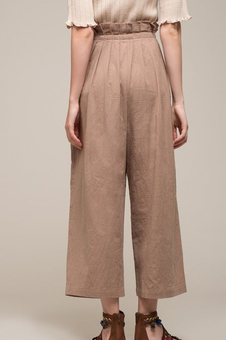 Moon River Paper Bag Waist Pants