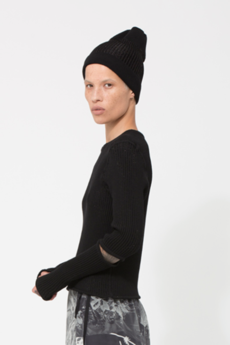Unisex NOM*D In/Out Beanie - Black