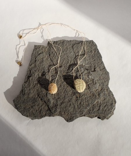Emily Nora O'Neil Silk Stone Necklace