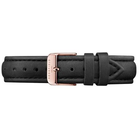 Rosefield The Bowery - White/Black-Rose Gold