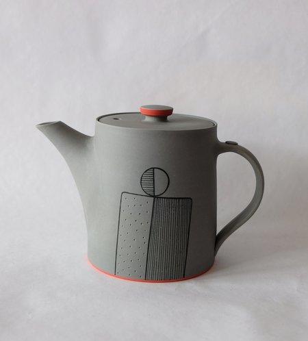 James and Tilla Waters Teapot
