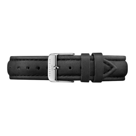 Rosefield The Tribeca Strap - Black/Silver