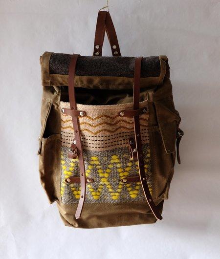 Amber M. Jensen Sketchbook Crafts Walking Paths Backpack